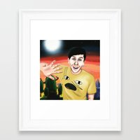 Phil In Ooo Framed Art Print