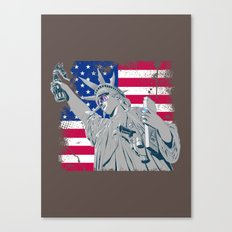 freedom... Canvas Print