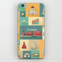 San Francisco Landmarks iPhone & iPod Skin