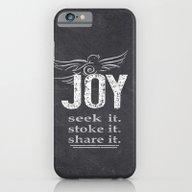 JOY...share It! iPhone 6 Slim Case