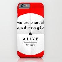 eggers - we are unusual & tragic & alive iPhone 6 Slim Case