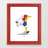 Arsenal 2003/04 Home & Away - The Invincibles Framed Art Print