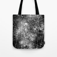 Fly Up to the Heavens (bnw) Tote Bag