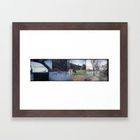 Home Collage 2 Framed Art Print