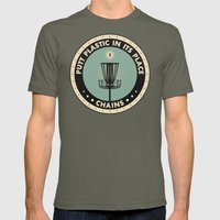 Putt Plastic In Its Plac… Mens Fitted Tee Lieutenant SMALL
