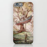 Fisherman Of The Forest iPhone 6 Slim Case