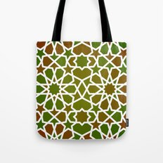 Red & Green Tote Bag
