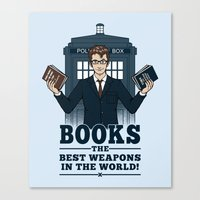 The Best Weapons in the World Canvas Print