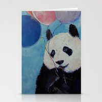 Panda Party Stationery Cards