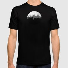 Wisdom Of Nature Mens Fitted Tee Black SMALL