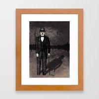 Jekyll And Hyde Framed Art Print