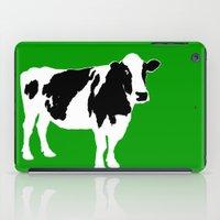 Farm Cow Art iPad Case