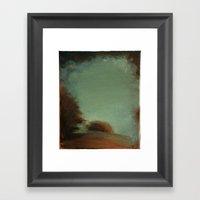 Landscape (untitled 1) Framed Art Print