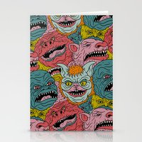 GhoulieBall Stationery Cards
