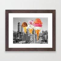Urban Delights 1 Framed Art Print