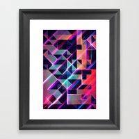 Lysyr 8 Framed Art Print