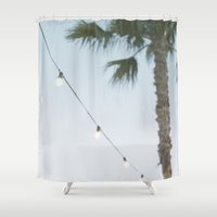 summer nights Shower Curtain