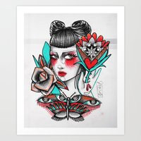 Old But Gold. Art Print