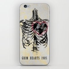 Grim Hearts 1985 iPhone & iPod Skin