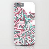 iPhone & iPod Case featuring Geo Run by Aimee MaCray