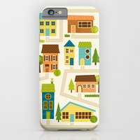 iPhone & iPod Case featuring Neighborhood by Liz Urso