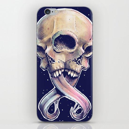 Triple eyed skull iPhone & iPod Skin