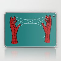 spidey hand trick Laptop & iPad Skin