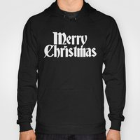 Merry Christmas White Ch… Hoody