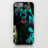 Mike & Sully (black)... iPhone 6 Slim Case
