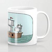 Ship in a Bottle Mug