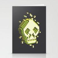pixelation Stationery Cards