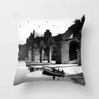 Revelation in the light of day Throw Pillow