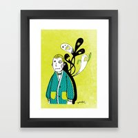 Everybody Has A Ghost Or… Framed Art Print