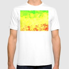 CELLS SMALL Mens Fitted Tee White