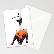 bovine ballet Stationery Cards