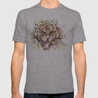 Tatewari Ute'a Mens Fitted Tee Athletic Grey SMALL