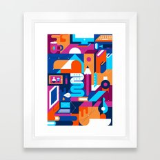 Creative Process Framed Art Print