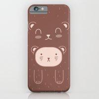 WILD + BEAR print iPhone 6 Slim Case