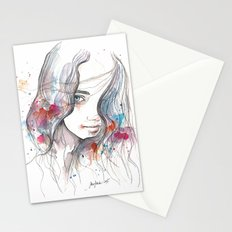 Spring 2015, watercolor Stationery Cards