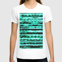 turquoise T-shirts featuring Turquoise by allan redd