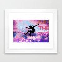 RAD revolution  Framed Art Print