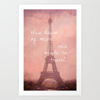 This Heart Was Made To T… Art Print