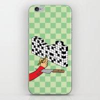 RAZOR CROSSWORD iPhone & iPod Skin