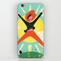 Exuberant! iPhone & iPod Skin