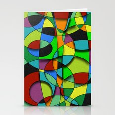 Abstract #309 Stationery Cards