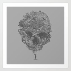 Spectre will lurk Art Print