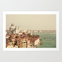 City Of Venice Art Print