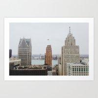 Architectual Variety - D… Art Print
