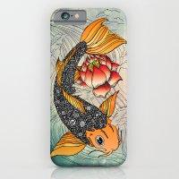iPhone & iPod Case featuring Koi by Tuky Waingan