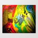 Bright colour Canvas Print